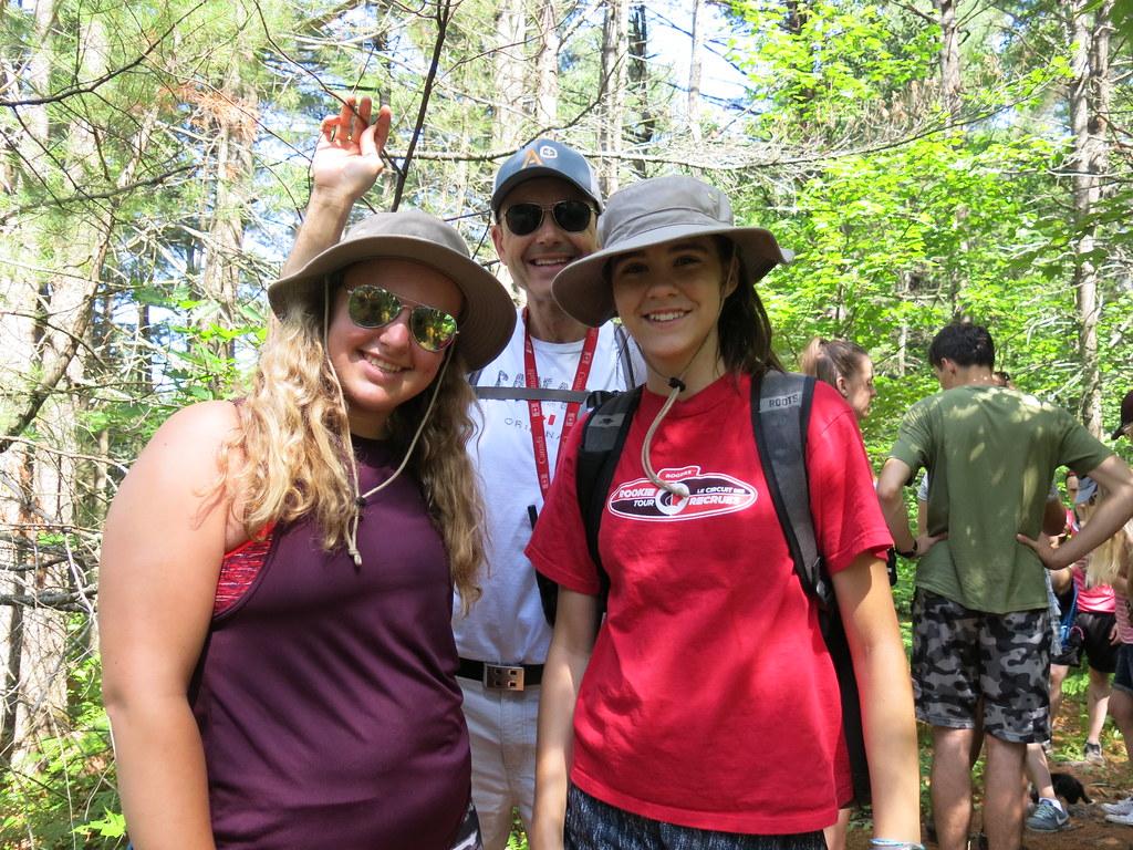 Alik, Stesha and Anna (Summer Camp)
